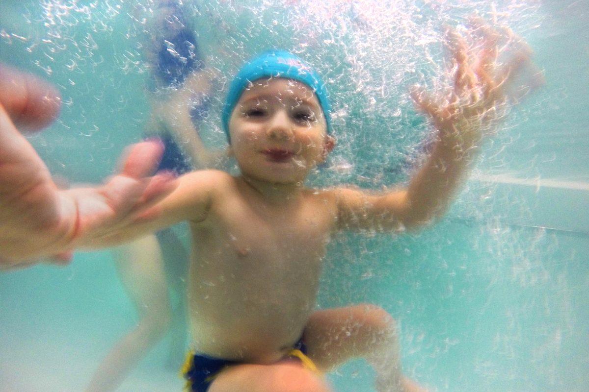Energy Center Piscina bambini sott'acqua!